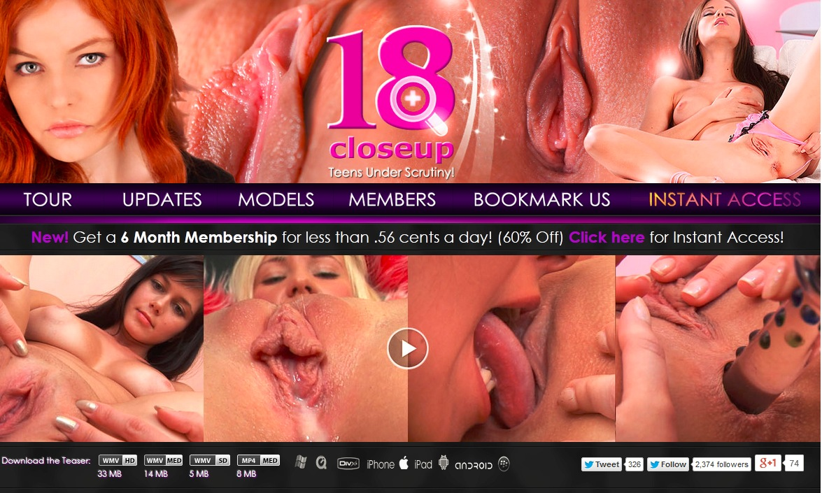 3 days free members access pass for 18closeup 2014-11-06